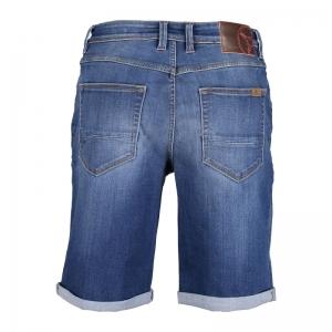 Jeans short kobalt