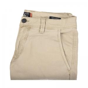 Stoere short met zijzakken 1900 Grint