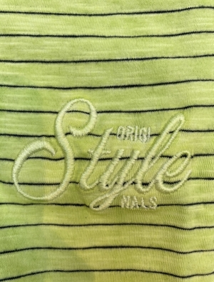 Style Organic cotton Bright lime