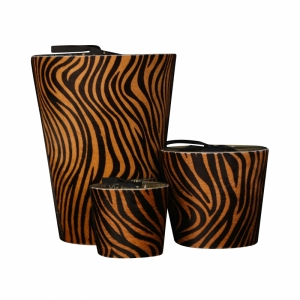 40 branduren zebra brown