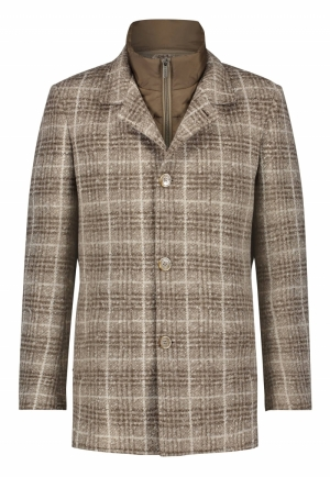 Gruite jas met uitneembare pad logo